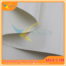 COATED PVC TARPAULIN EJCP002-6 G WHITE