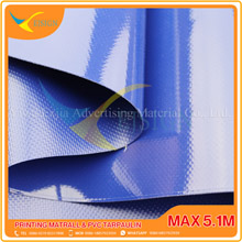 COATED PVC TARPAULIN EJCP002-6 G BLUE