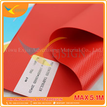 COATED PVC TARPAULIN EJCP002-5 M RED