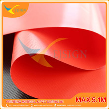 COATED PVC TARPAULIN EJCP002-4 G RED