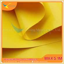 COATED PVC TARPAULIN EJCP002-3 G YELLOW