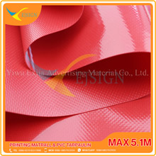 COATED PVC TARPAULIN EJCP002-3 G RED