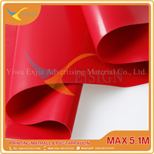 COATED PVC TARPAULIN EJCP002-2 G RED
