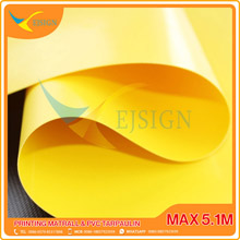 COATED PVC TARPAULIN EJCP001-2 G YELLOW